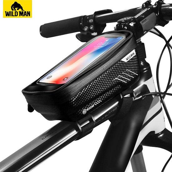Mountain Bike Bag Rainproof Waterproof Mtb Front Bag Mobile Phone Case