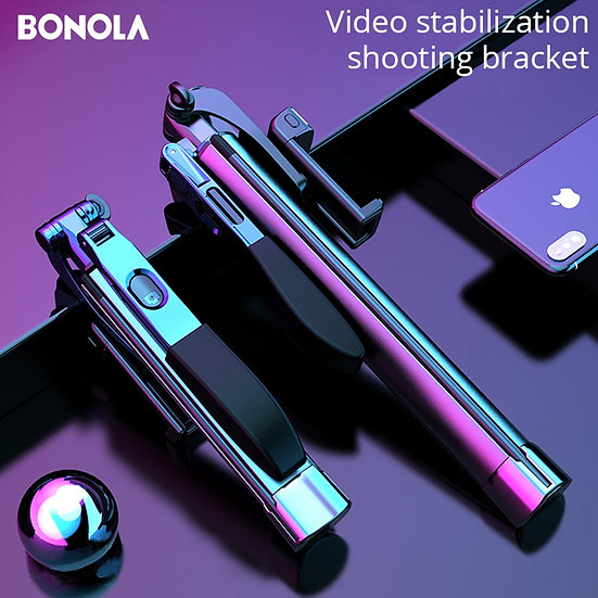 Video Stabilizer Selfie Stick Tripod Bluetooth for Mobile Phone