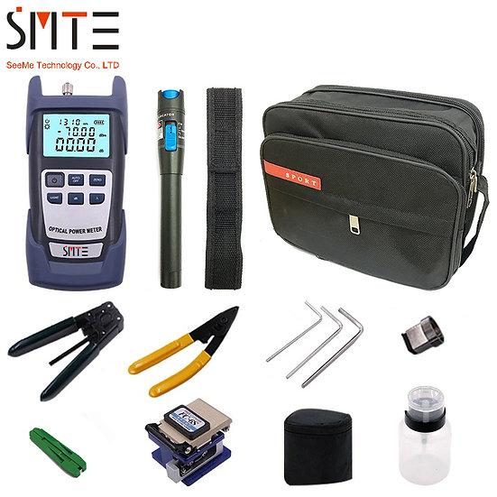 12pcs/Set Fiber Optic FTTH Tool Kit