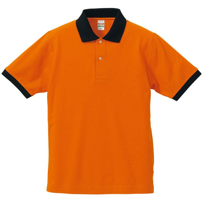 オレンジ/ブラック