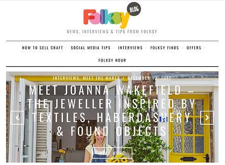 Folksy featured maker