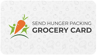 Grocery Card - Send Hunger Packing Card.