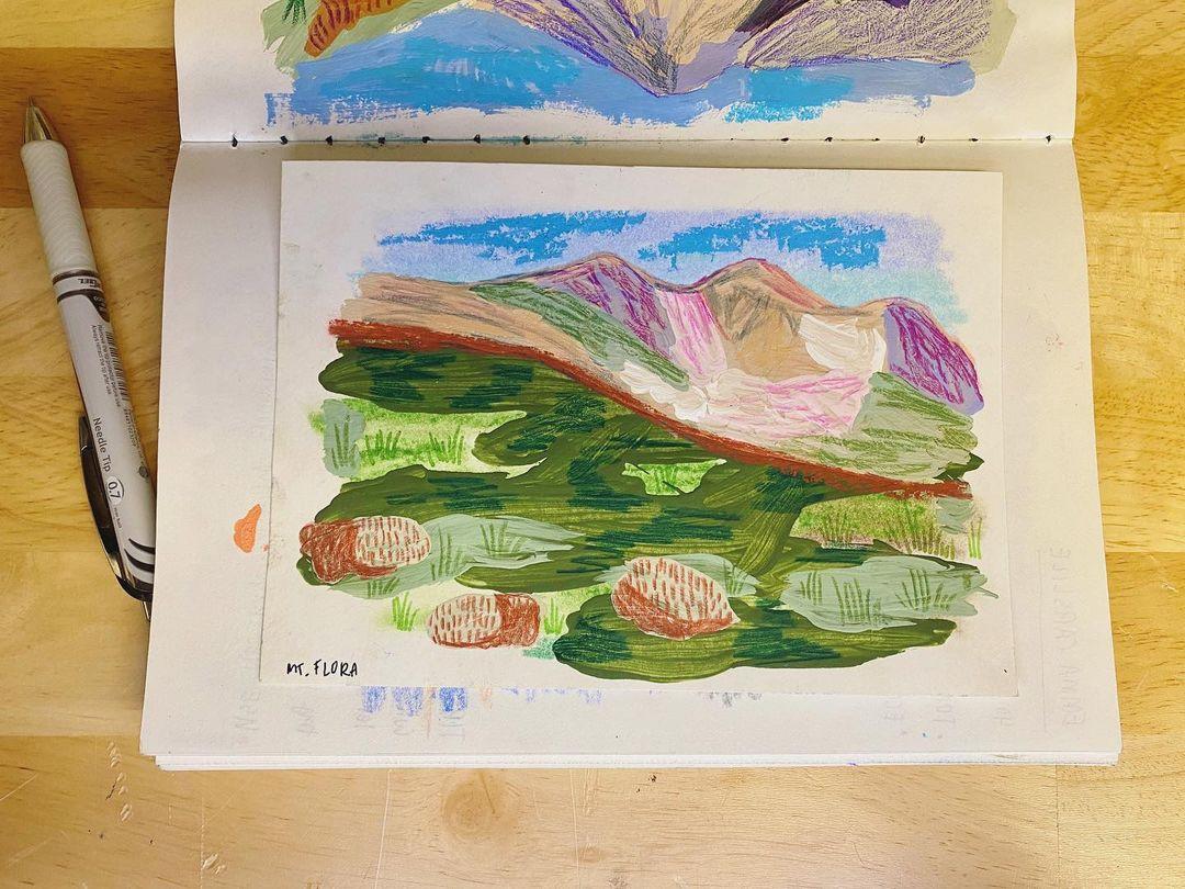 Mount. Flora