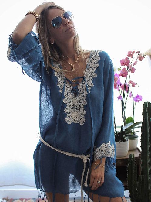 Kate Dress Linen & lace