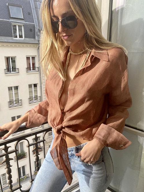 Kika Shirt Linen - 3 colors available