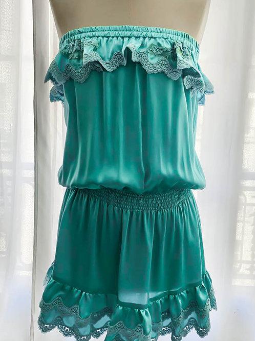 Kanelle Dress Silk & lace