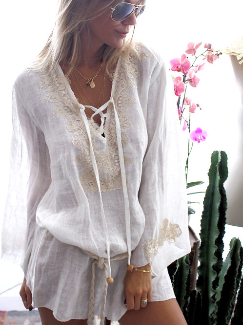 Kate Tunic Linen - 6 colors available