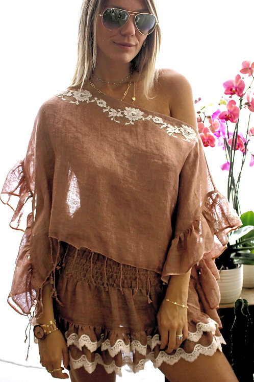 Top Kool Linen & lace 6 colours available