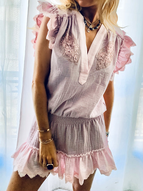Miley Dress Cotton Gas - 3 Colors Available