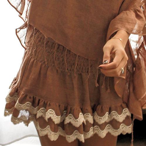 Khloe Skirt Linen - 6 colors available