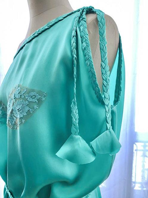 Ludivine Dress Silk & lace