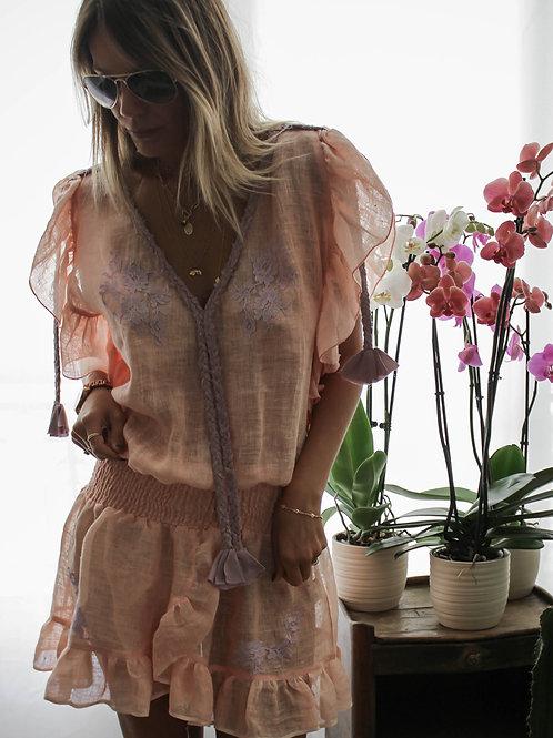 Joe Dress Linen & lace