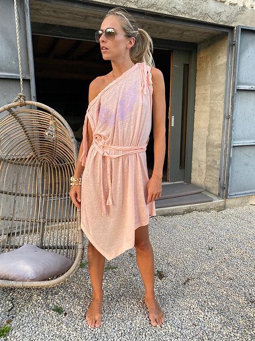 Ludivine Dress Mix Linen
