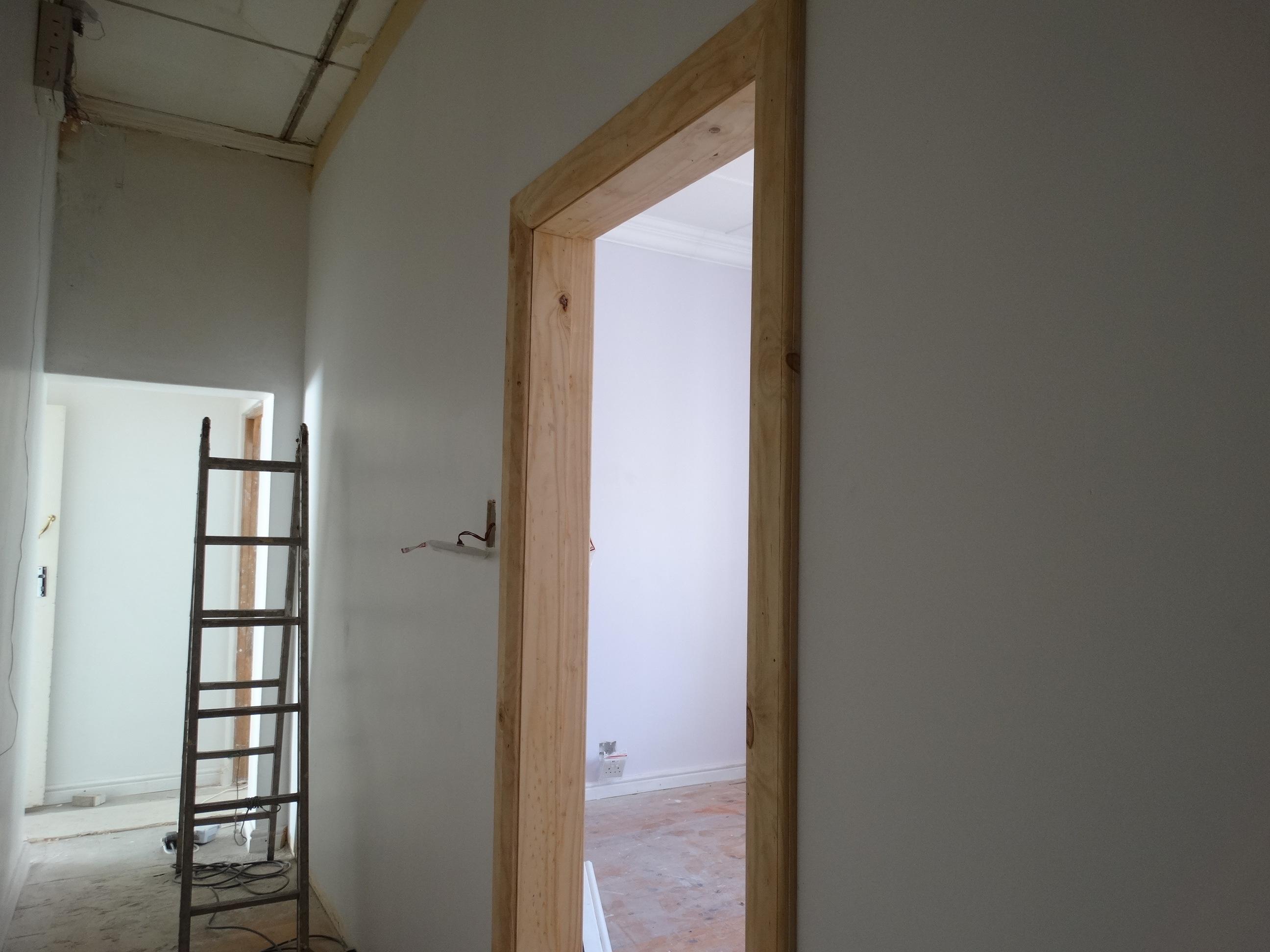 Architrave door frame