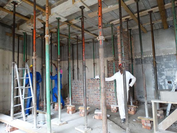 Ribs and Blocks construction