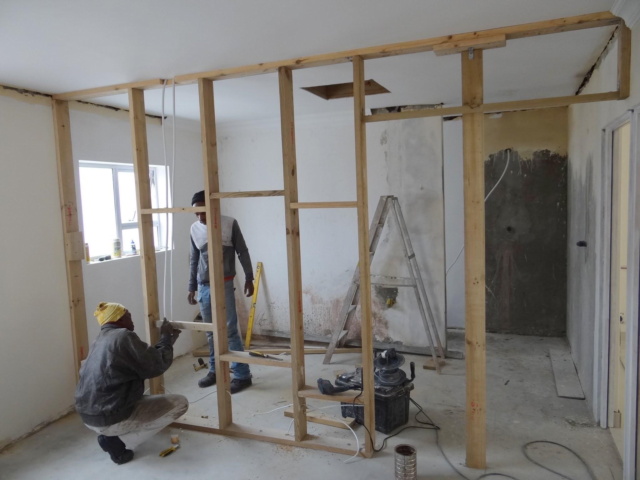 Build drywall