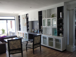 Lounge and Cupboards