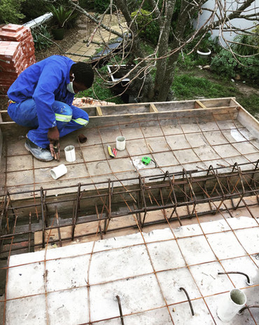 Concrete reinforcing and building