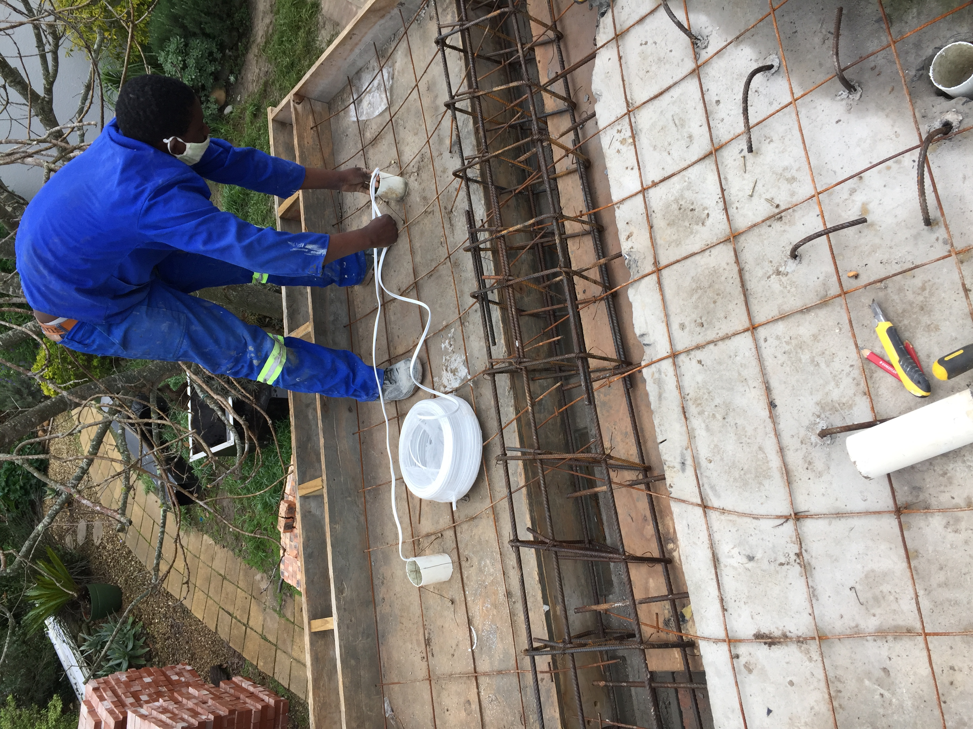 Overhang preparation