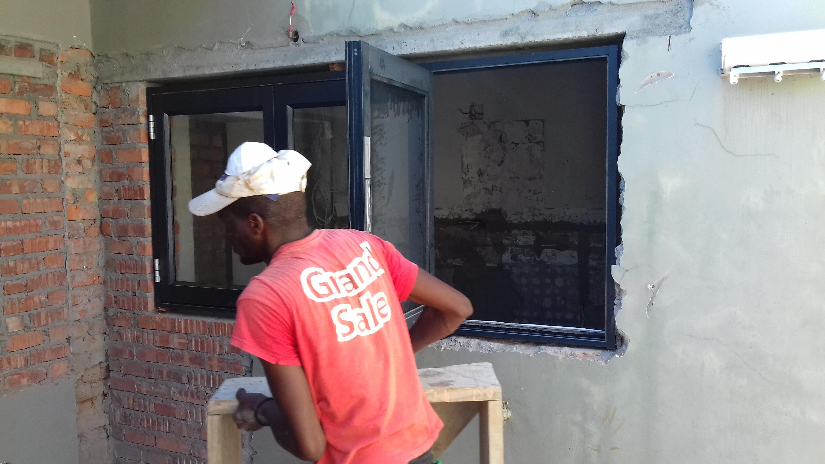 New Window to Kitchen
