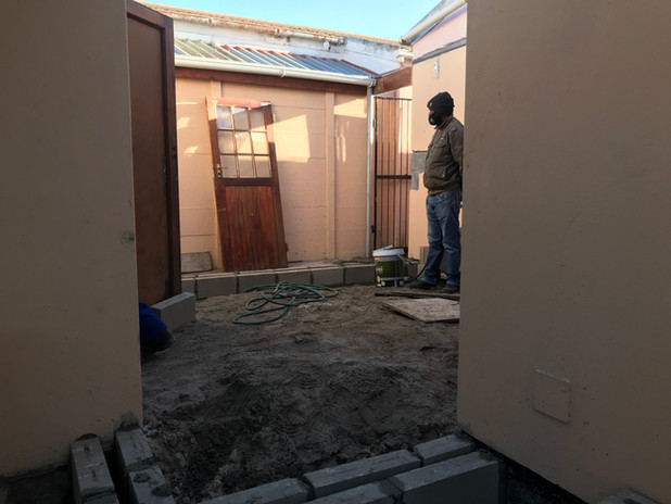 Preparation for casting floor