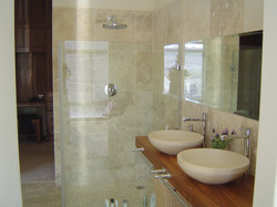 Double basin counter