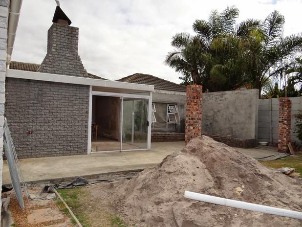 Building works in progress