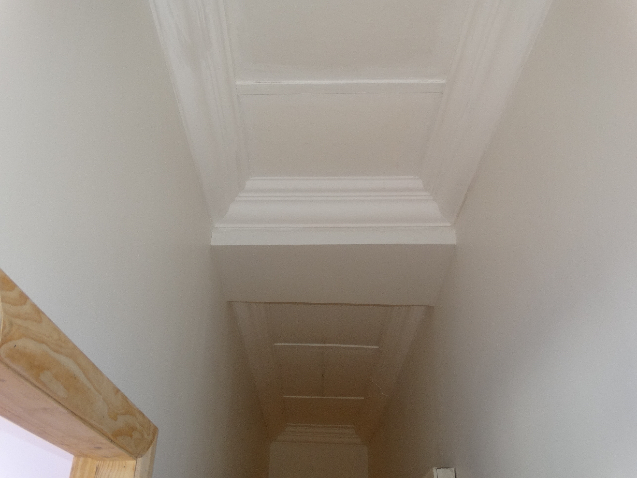 Ceiling and polystyrene cornices