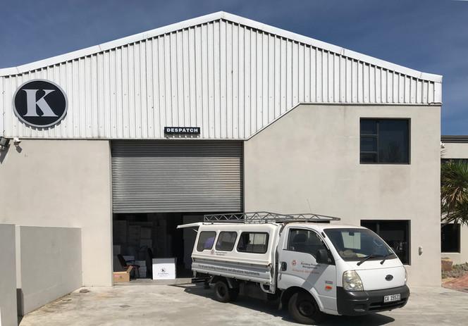 K-Light Import warehouse