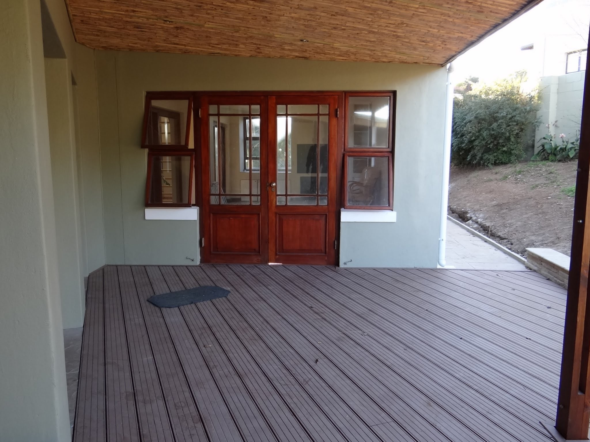 Deck made of Composite Wood