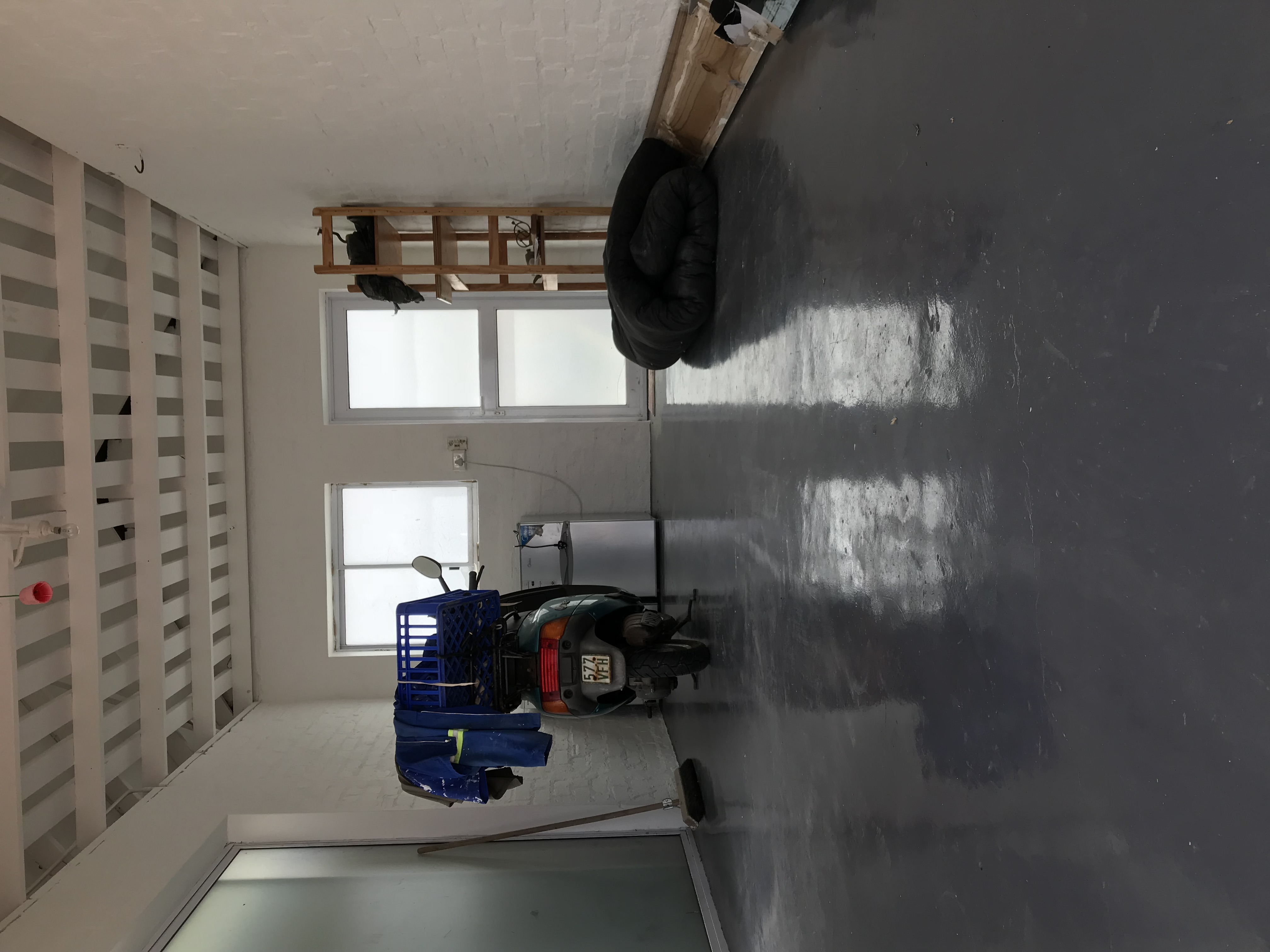 Painting garage walls and floor