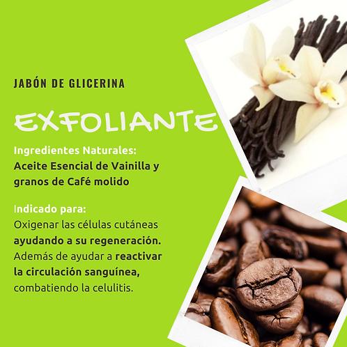 Jabón de glicerina - Exfoliante