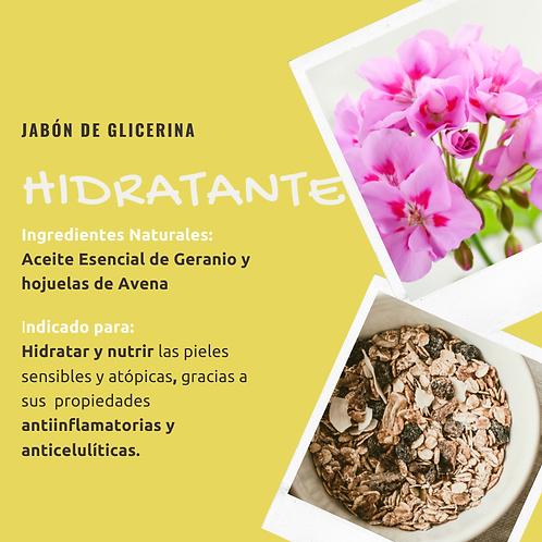 Jabón de glicerina - Hidratante