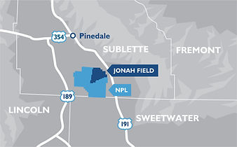 Map of Jonah Field and NPL