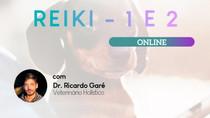 Reiki Nível 1 e 2 - 11 e 12 de novembro - online