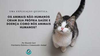 Os animais não-humanos criam sua própria saúde e doença como nós? Uma explicação quântica.