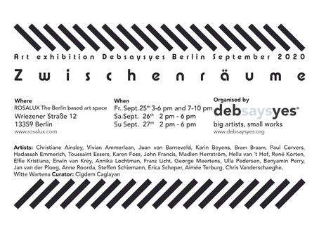 Van Berlijn tot Bellingwolde, nieuwsbrief september