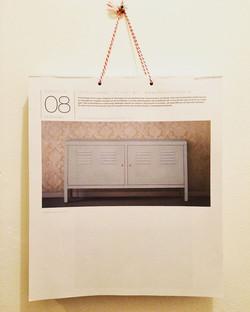 De PS kast wit van Ikea, in De Grote Nederlandse Kunstkalender 2017