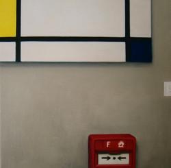 Compositie met brandmelder