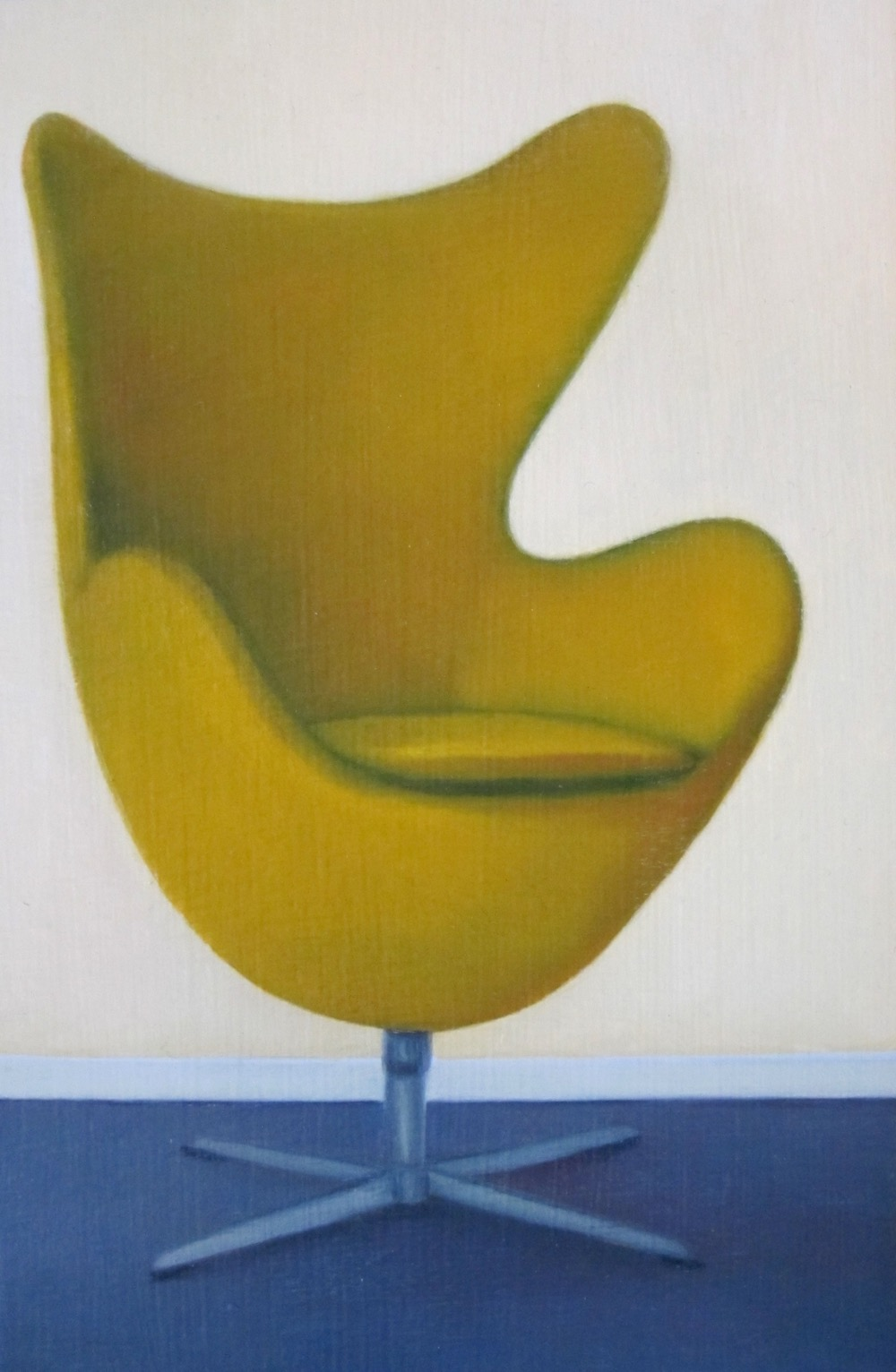 Egg-chair Yellow