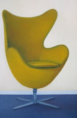 Egg-chair Yellow