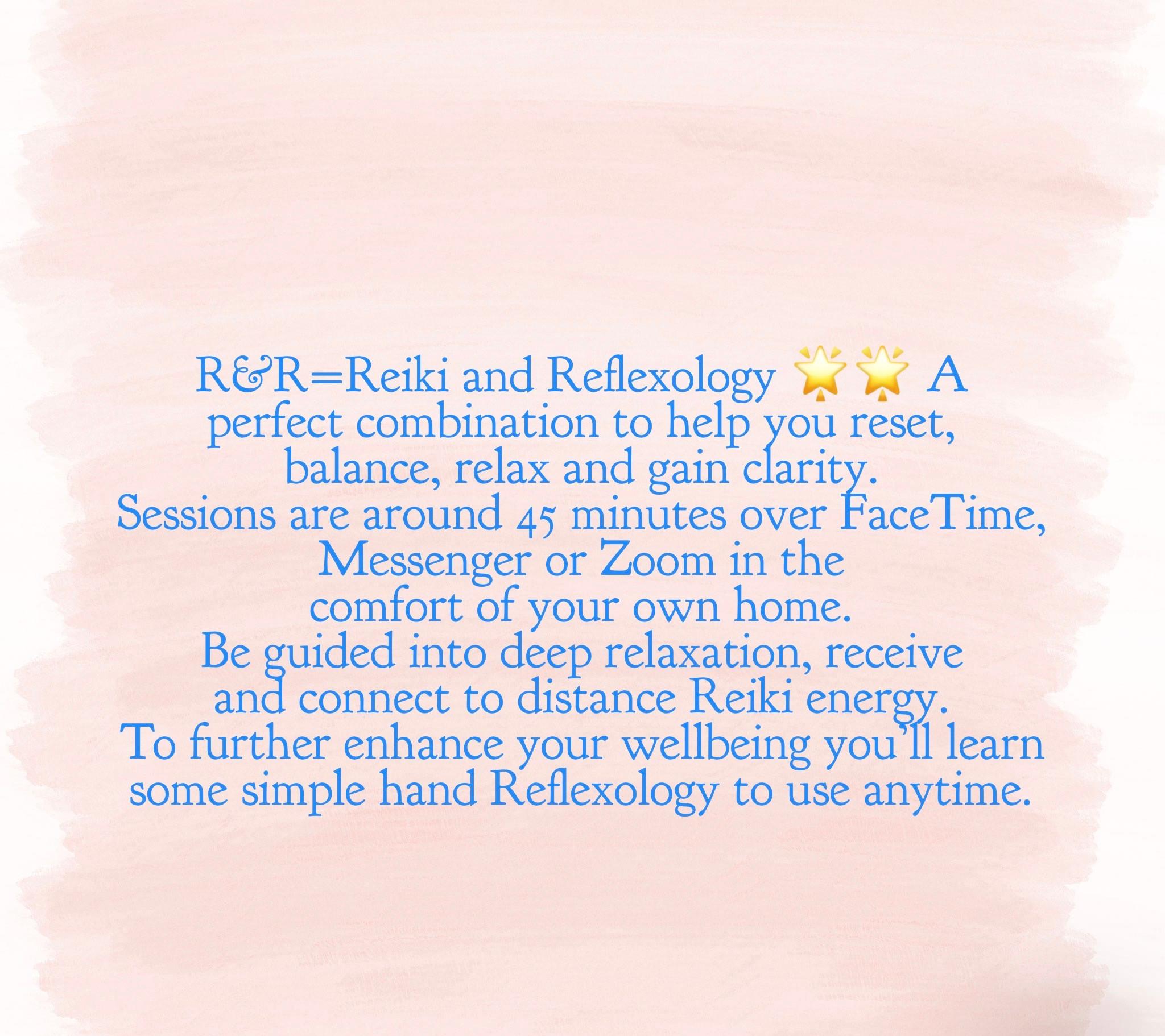 Virtual Reiki & Reflexology