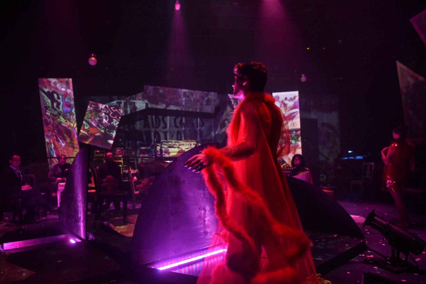 dance floor production photo