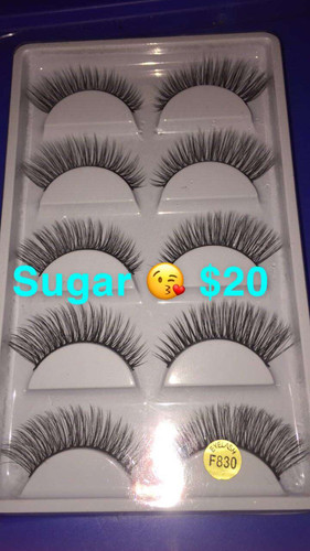 a5b094792af 5 Pairs of 3D Mink Lashes