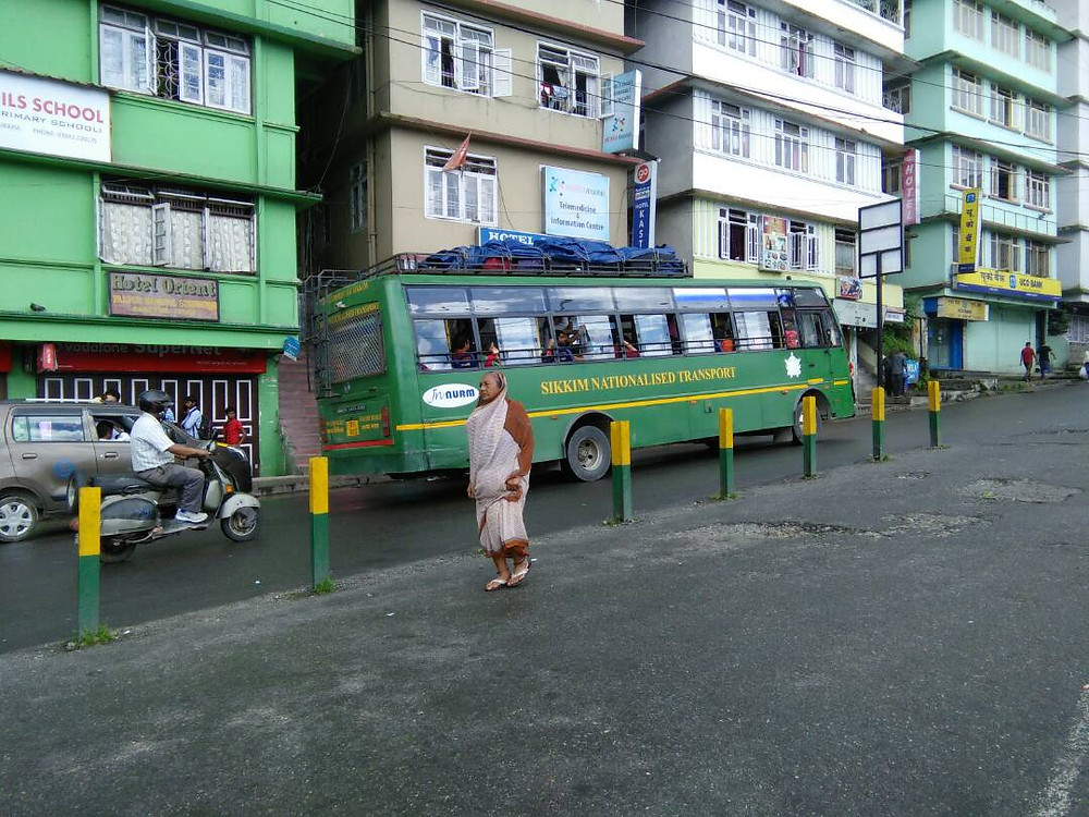 The last bus from Gangtok to Siliguri departs from the SNT Depot, Gangtok.