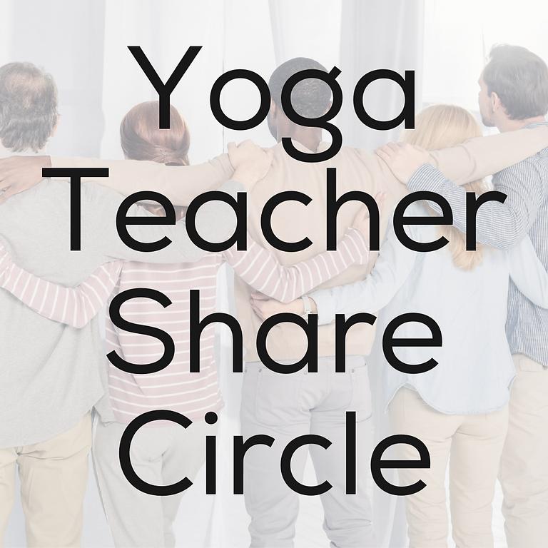 Yoga Teacher Share Circle