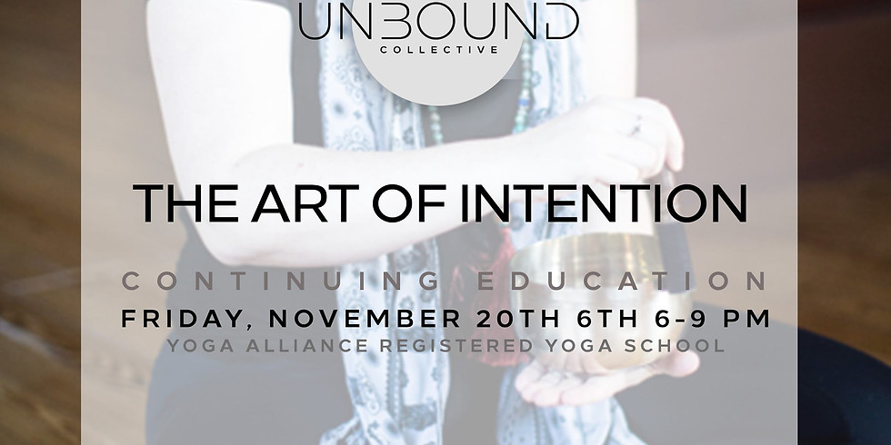 The Art of Intention