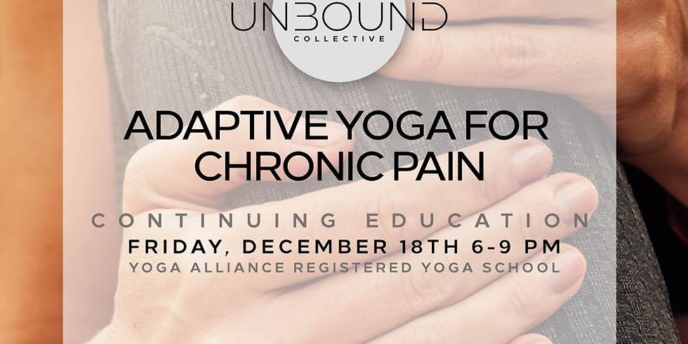 Adaptive Yoga for Chronic Pain