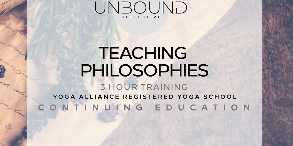 Teaching Philosophies