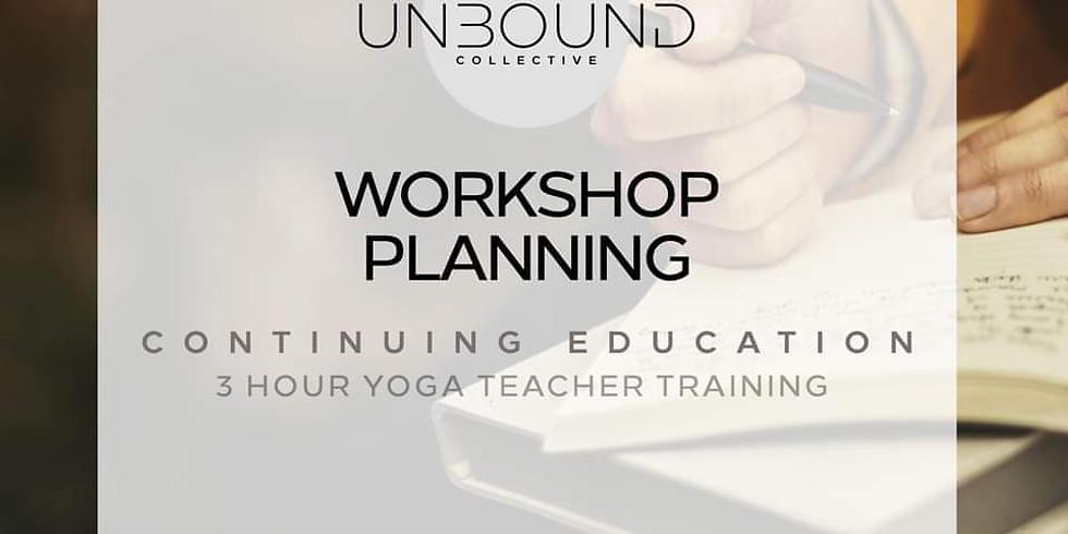 Workshop Planning